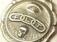 【希少】【1900年代初頭】アメリカ 秘密結社オッドフェローズ Odd Fellows(FLT)懐中時計の飾りメダル(ウォッチフォブ)40×44mm